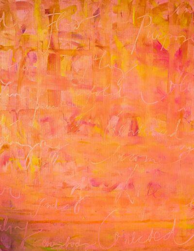 abstrakte Malerei Eva Ursiny Auftragskünstlerin Wien